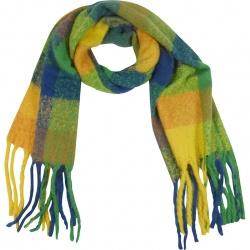 Sjaal Soft  Multi Blauw Geel
