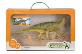 prehistorie: Iguanodon Deluxe Window Box 28 cm groen