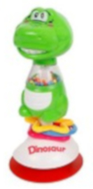 stoelspeeltje dino junior 20 cm groen