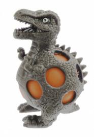 squeezy Dino - lambeosaurus 10 cm grijs