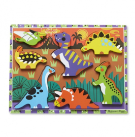 Dinosaurs Chunky puzzel 7-delig