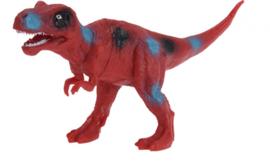 opgravingsset dinosaurus 4-delig rood