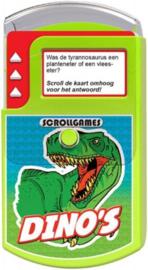 quizspel scrollgames Dino's