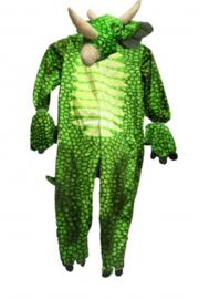 babykostuum onesie Brontosaurus groen maat S