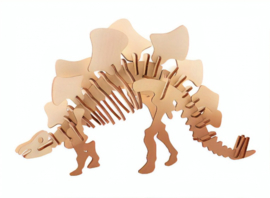 3D dinosaurus puzzel hout stegosaurus
