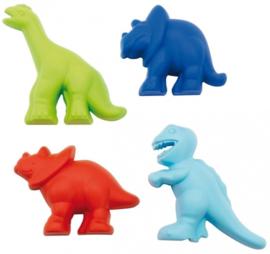 dinosaurus zandvormpjes 4 stuks
