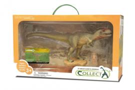 prehistorie: Mapusaurus Deluxe Window Box 27 cm groen