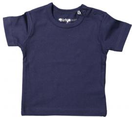 T-shirt korte mouwen junior blauw maat 104