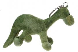 sleutelhanger dino 11 cm groen