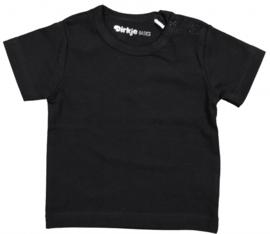 T-shirt korte mouwen junior zwart maat 110