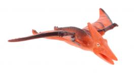 dinosaurus Animal World Pterodactyloidea 11 cm oranje
