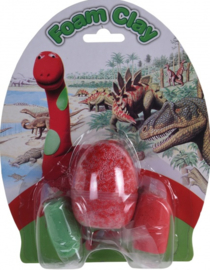 Kleiset  Dino rood-groen