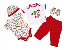 babykleding in Giftbox 5-delig