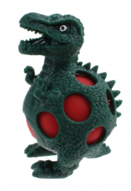 squeezy Dino - lambeosaurus 10 cm groen