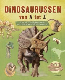 educatief boek Dinosaurussen van A tot Z