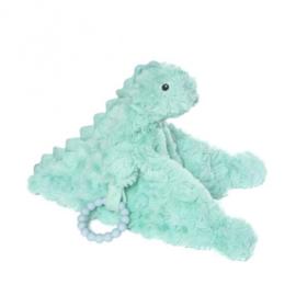 knuffeldeken Chomp junior 12 cm pluche turquoise