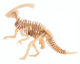 3D dinosaurus puzzel hout parasaurolophos