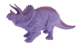 opgravingsset dinosaurus 4-delig paars