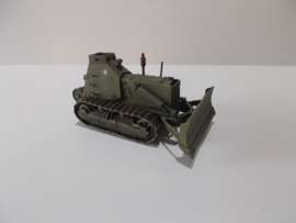 1:76 WW2 American D7 Caterpiller Bulldozer