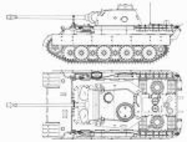 1:76 WW2 British Crusader MK III Dozer