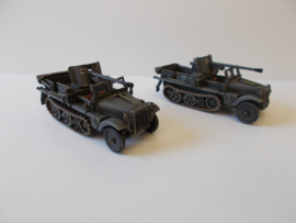 1:72 WW2 German Sdkfz 10 Demag Pak 38