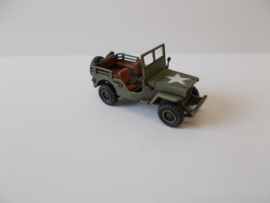 1:72 WW2 American Willys 4x4 1/4 Ton