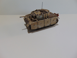 1:72 WW2 German  Panzer III Ausf M
