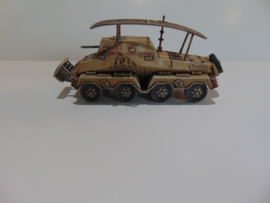 1:72 WW2 German Sdkfz 263 8 Rad Command