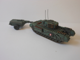 1:72 WW2 British Churchill Crocodile