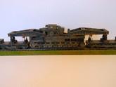 1:72 WW2 German Morser Karl Gerat W/Rail Transport