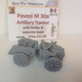 1:72 WW2 Italian Pavesi M30 4X4 Artillery Tractor
