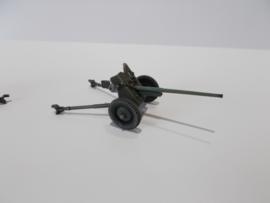 1:72 WW2 Russian 45mm Anti Tank Gun 1942