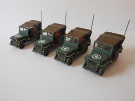 1:72 WW2 British Willys 4x4 1/4 Ton