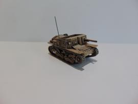 1:72 WW2 Italian Semovente L40 DA 47/32