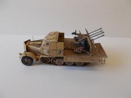 1:72 WW2 German Sdkfz 7/1 Armoured (Open)