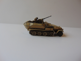 1:76 WW2 German Sdkfz 251/17 Ausf C 2cm Flak 38