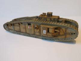 1:72 WW1 British International MK VIII