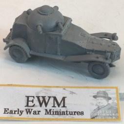 1:72 WW2 Japanese Vickers Crossley Armoured Car