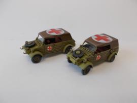 1:72 WW2 German Kubelwagen Ambulance