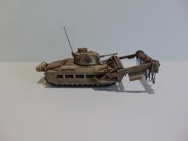 1:72 WW2 British Matilda Scorpion Flail Tank