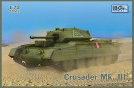1:72 WW2 British Crusader MK III