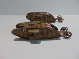 1:72 WW1 British Male MK I