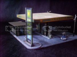 28mm Petrol Station Commission Works
