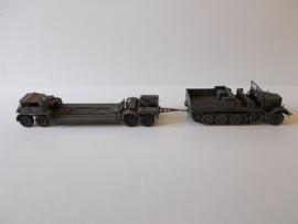 1:72 WW2 German Sdkfz 9 Famo & Sd.Ah 116 Trailer