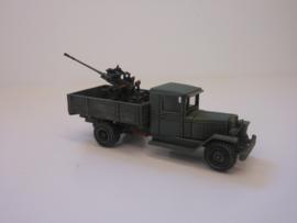 1:72 WW2 Russian Zis 5 Truck W/85mm AA