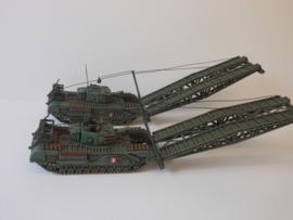 1:72 WW2 British Churchill AVRE Assault Bridge