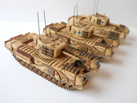 1:72 WW2 German Churchill MK IV