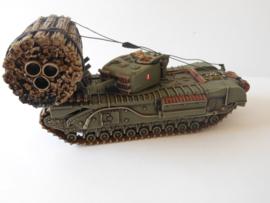 1:72 WW2 British Churchill AVRE Facine