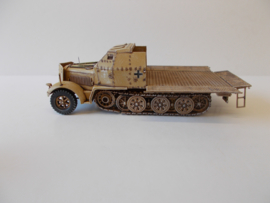 1:72 WW2 German Sdkfz 7/2 Armoured (Open)