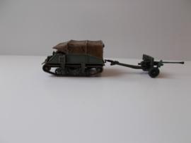 1:72 WW2 British Lloyd Carrier & 6 Pdr